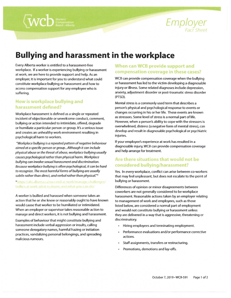 #3 WCB Employers Bullying and Harassment-01